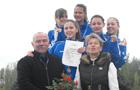 Méltón képviseltük iskolánkat az országos atlétikai ügyességi csapatbajnokságon